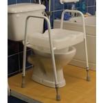 Toiletkader met brede toiletverhoger