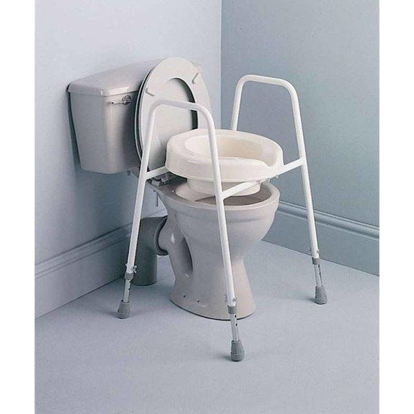 Toiletkader met toiletverhoger Days