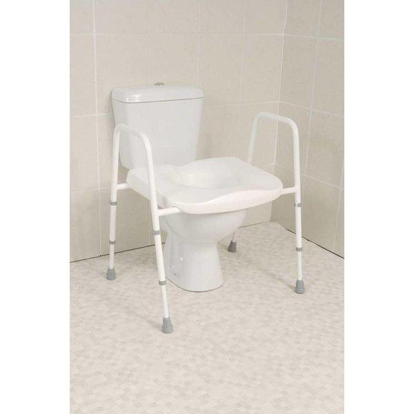 Toiletkader met brede zitting XL