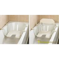 Siège de bain suspendu avec découpe pour l'hygiène Days