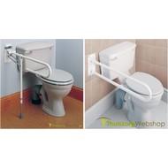 Opklapbare toiletbeugel met/zonder steunvoet