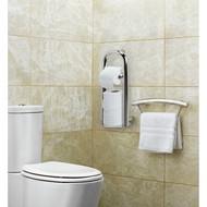 Poignée pour la salle de bain intégrée 2 en 1