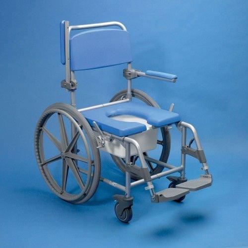 Douche/toiletstoel met wielen