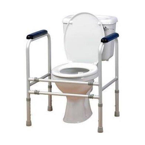 Extra stevig en regelbaar toiletkader