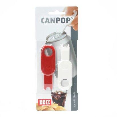 Ouvre-canette pour canettes avec un anneau d'ouverture CanPop (par 2)
