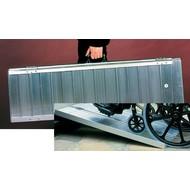 Hellend vlak voor rolstoel - koffermodel met scharnier