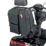 Opbergtas voor achteraan de scooter met wandelstokzakje Deluxe