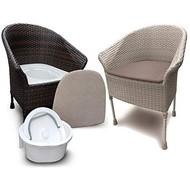 Luxe toiletstoel/zetel Walton