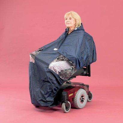 Poncho De Pluie Pour Scooter Ou Chaise Roulante Lectrique