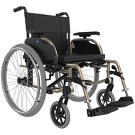 Lightweight aluminum foldable wheelchair XL 180 kg ICON 40