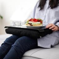 Mini-laptray met praktische kniebeschermer met antislip-schaal