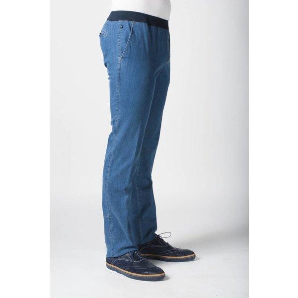 So Yes! Pantalon homme avec jean élastique