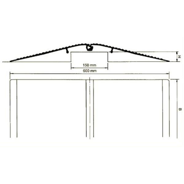 Rampe de pont fixe
