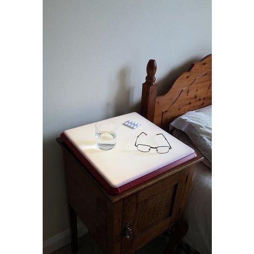Lampe conçue selon les besoins spécifiques des personnes âgées