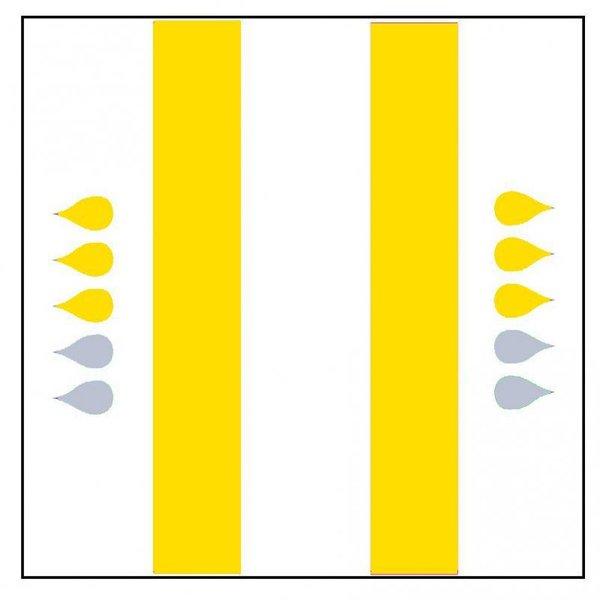 """Form """"Extra"""" jaune 4 x 20 pièces"""
