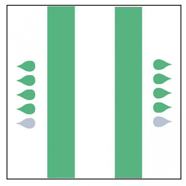 "Form ""Super"" vert 4 x 20 pièces"