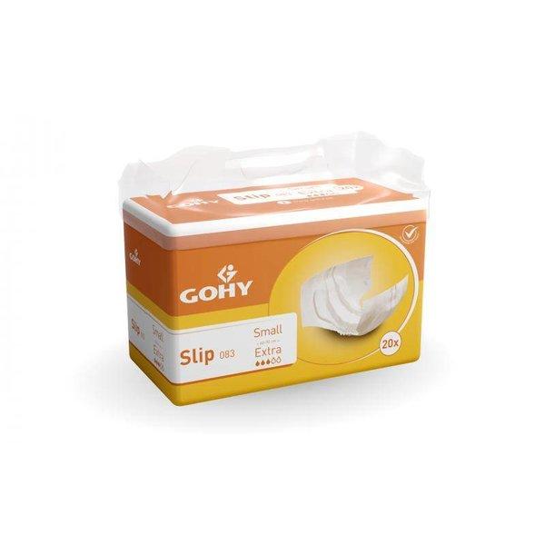 Slip 'Extra' - jaune 4 x 20 pièces