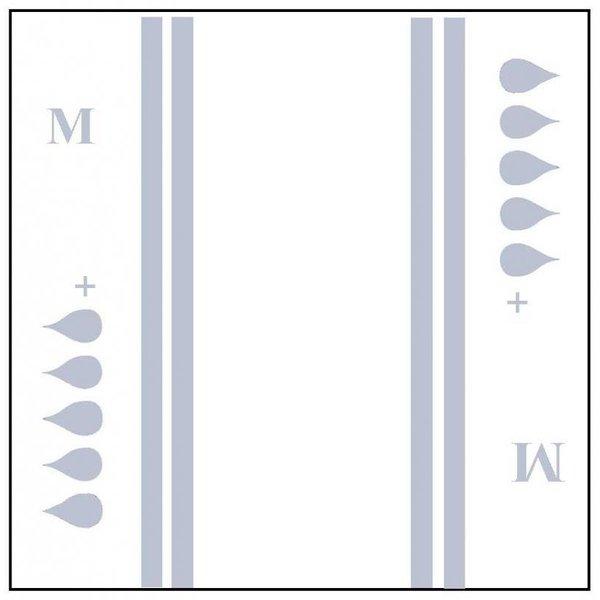 Slip 'Maxi plus' - gris 4 x 20 pièces