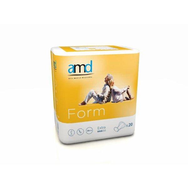 "Form ""Extra"" geel 4 x 20 stuks"