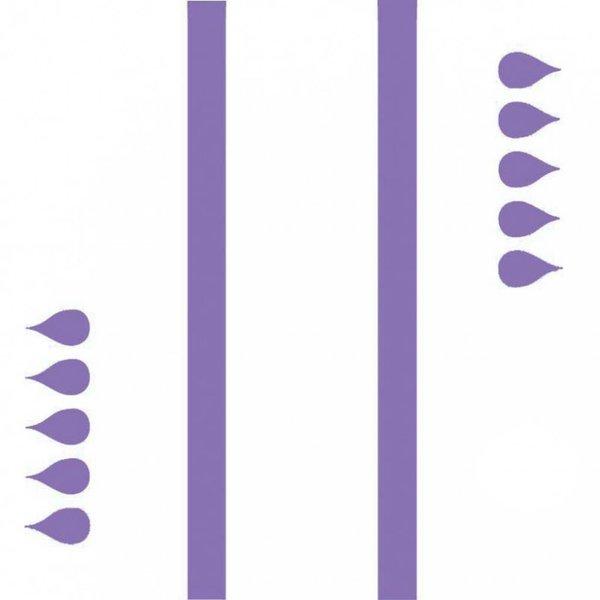 Slip 'Maxi' - paars 3 x 20 stuks