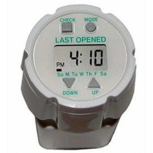 Medicijnalarm Timecap met laatst geopend melding