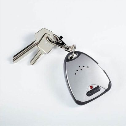 Key ring with Tiffany Style alarms