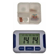 Medication alarm with 5 alarms