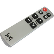 Remote control with large buttons