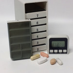 Medicijnalarm Pillbox met weeklader