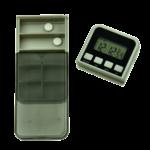 Alarme de médicaments Pilbox avec chargeur hebdomadaire