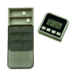 Medication alarm Pillbox with weekly charger