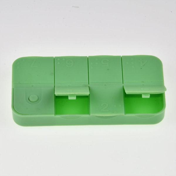 Nederlandssprekend Medicijndoosje met braille