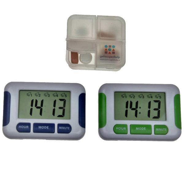 Alarme médicamenteuse avec 5 alarmes