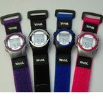 Children's medicine watch with 8 alarms