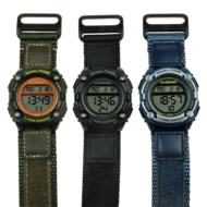 Medicine or Plash watch with 5 alarms