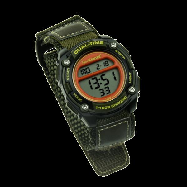 Medicine or Plash watch with 5 alarms