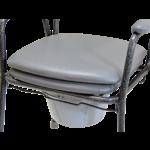 Toiletstoel verstelbaar in hoogte