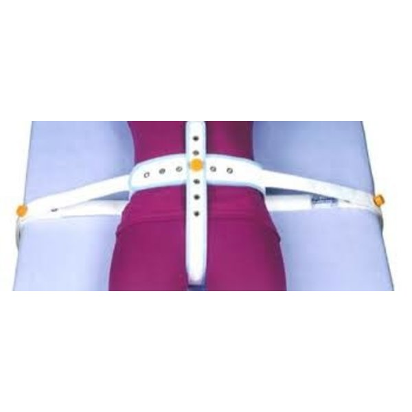 Safety belts for in bed