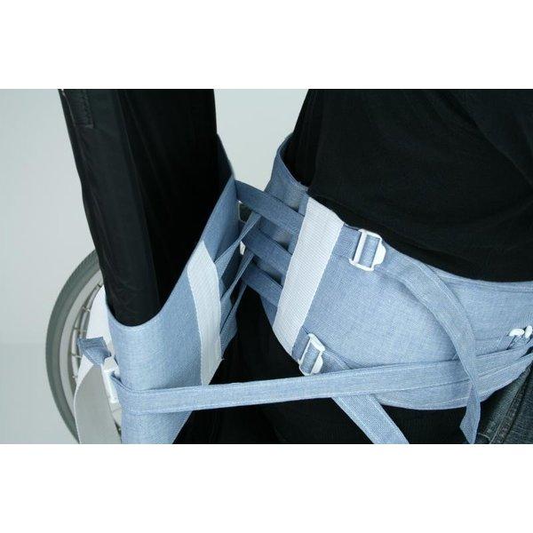 Ceinture de sécurité pour fauteuil roulant