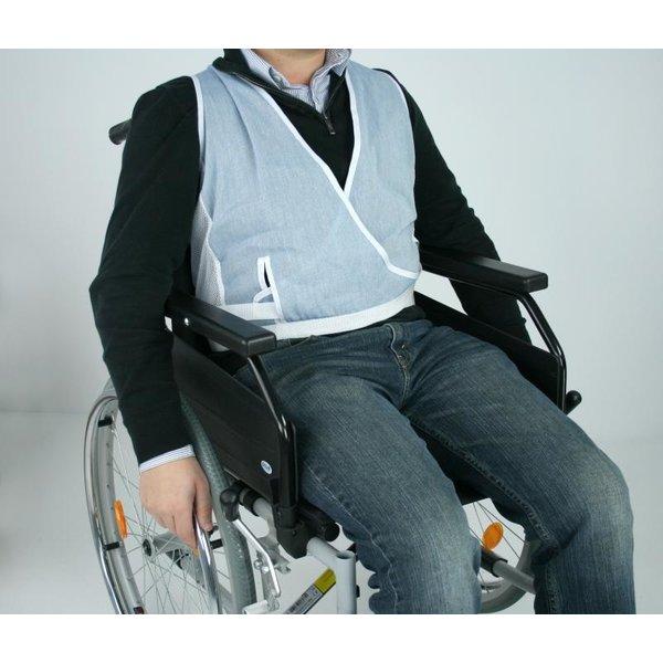 Gilet de maintien pour fauteuil roulant