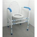 Regelbaar toiletkader