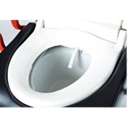 Abattant avec fonction de lavage électrique Rebotec
