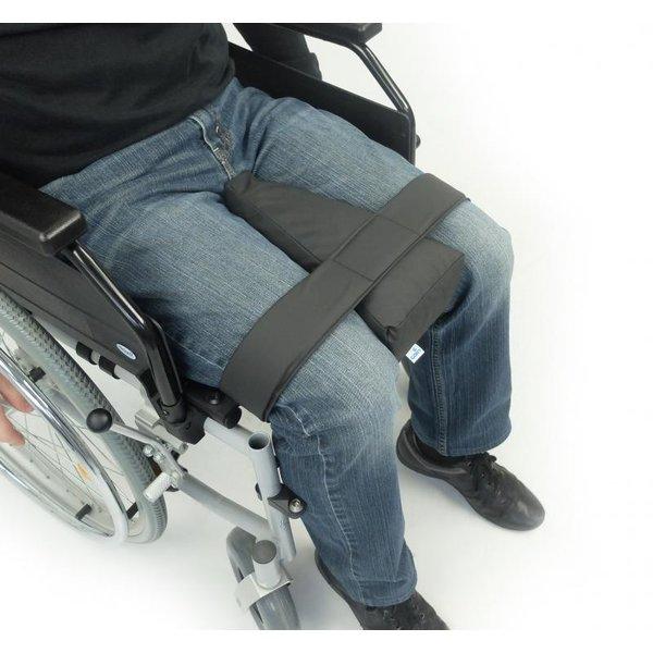 Abductieklos kniespreider voor rolstoel
