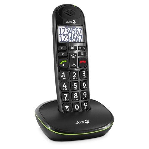 Draadloze seniorentelefoon met duidelijk scherm