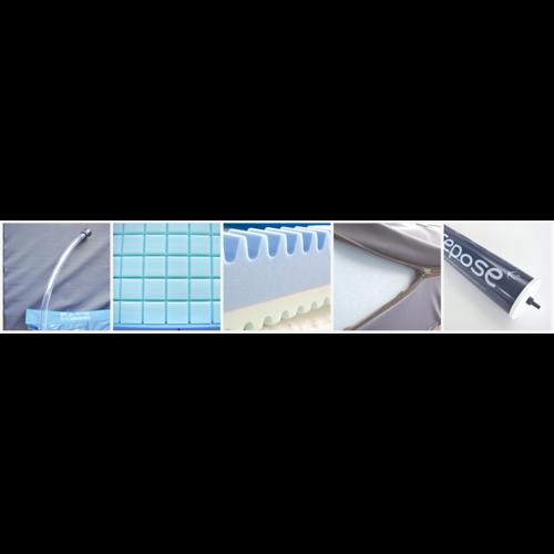 Repose® - Ultracore 3 in 1 hybrid mattress for longer hospitalisation