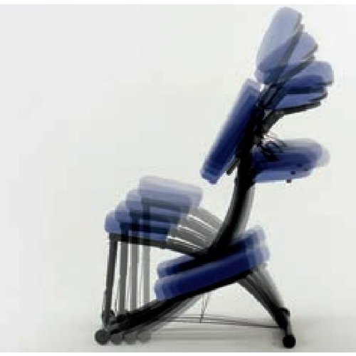 Portable chair for massage and therapy