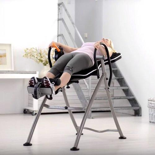 Inversietafel voor rugproblemen