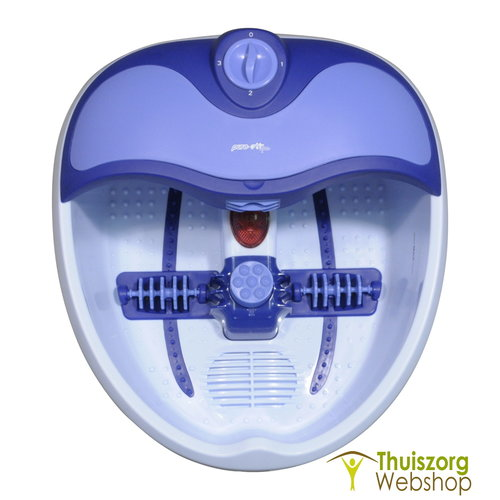 Deluxe voet bubbelbad en pedicureset