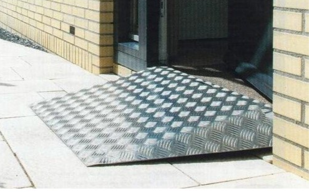 Loading ramps, sloping surfaces