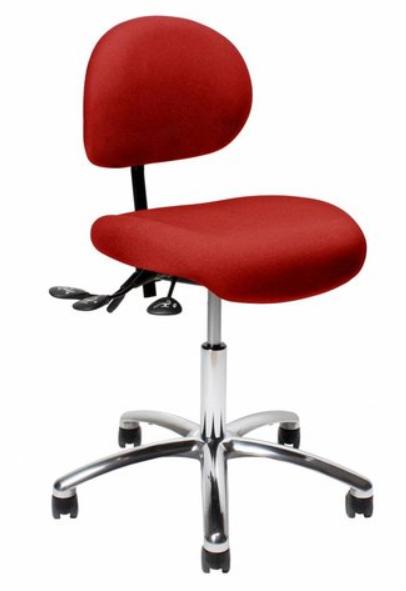 Werkstoelen Vela Samba en Latin